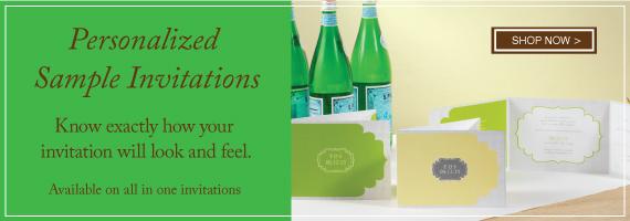 Personalized Sample Invitations