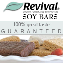 Click Here for Revival's Delicious Soy Bars!