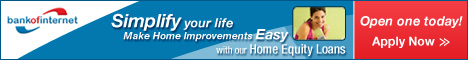 Bank of Internet Home Equity Loan