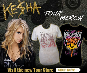 Ke$ha Official Merchandise - Shop Now
