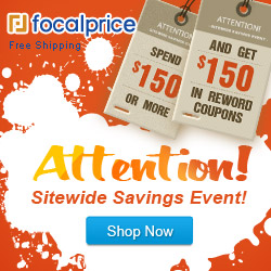 Spend $150 Get $150 Coupons,Ends on Nov.25,Free shipping@Focalprice.com
