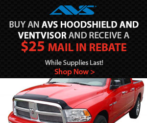 AVS Ventvisor, Hoodshield