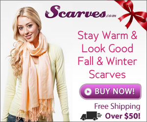 Find beautiful gifts for the Holidays at Scarves.com