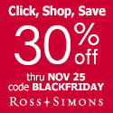 30% OFF SITEWIDE at Ross-Simons.com!