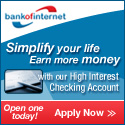 Bank of Internet Checking Account