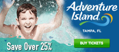 Adventure Island Tampa Water Park - Save Over 25%!
