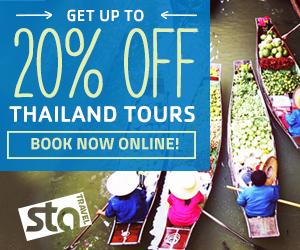 20% off thailand tours