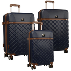 -Anne Klein Greenwich -3 Piece Spinner Hardside Luggage Set Now Only $253.47 Org. $1,080.00 Plus free shipping. Use promo code AKGR at checkout.-*