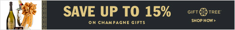 Save Up to 15% on Champagne Gifts