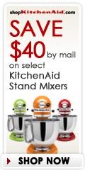 shopKitchenAid.com Rebate Offers