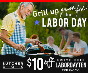 ButcherBox Labor Day $10 Off Promo Banner