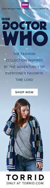 Torrid, Plus Size, Womens Apparel, Clothing, Doctor Who, Time Lord, Timelord, BBC, fashion collection, exclusive,