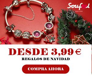 Regalos de Navidad comienzan desde € 3.99 en Soufeel.es
