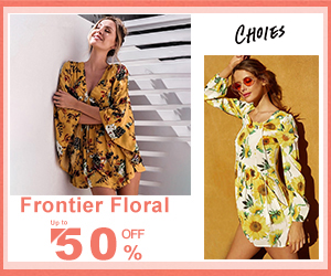 Floral Pattern,Gorgeous! Wardrobe Essentials! Up to 50% OFF!