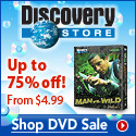 Discovery Semi-Annual DVD Sale January 2008!
