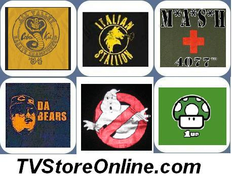 T-Shirts from TV Store Online