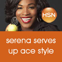 Get Grand-Slam Glam with Serena Williams at HSN!