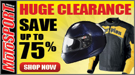 Motosport Huge Clearance Sale!