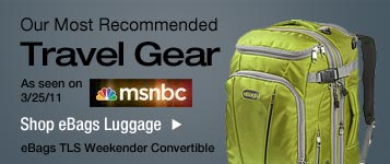 eBags Luggage- As seen on MSNBC!