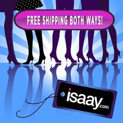 ISAAY.com Free Shipping Both Ways