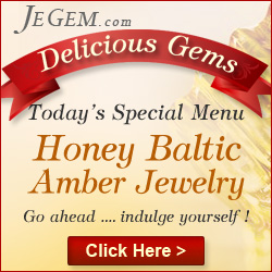 Honey Amber Baltic Jewelry