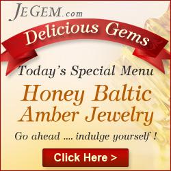 Honey Amber Baltic Jewelry
