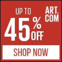 Art.com banner
