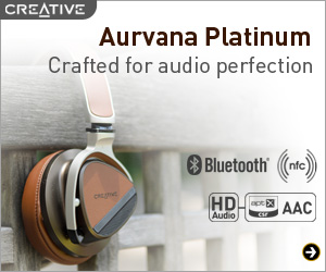 Aurvana Platinum Flagship Over-the-ear Bluetooth® Headset with NFC