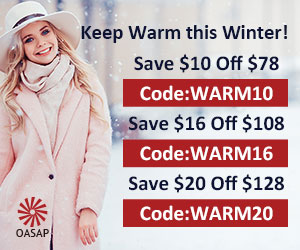 Oasap Winter Coat