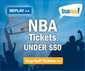 Get NBA Tickets Under $20 at StubHub!