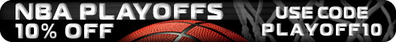 10% Off NBA Playoff Tickets! Code PLAYOFF10