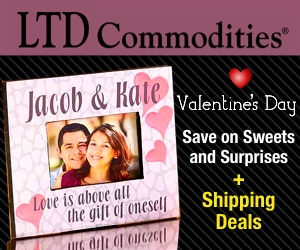 Valentines Day! Save on Sweets and Surprises                   for your Valentine + Free Shipping Deals at LTD