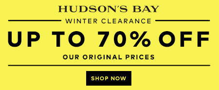 (1/16-2/26) Up to 70% off clearance at TheBay.com