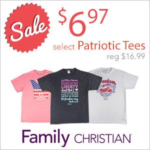 $6.97 Patriotic Tees