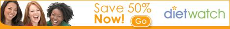 Save 50% women 468x60