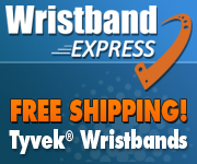 Free Shipping at Wristband Express