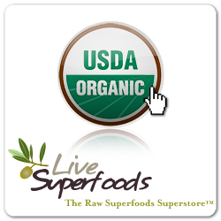 Click Here to Shop Premium Quality Raw Organic Superfoods Deleivered Direct to Your Door from Live Superfoods and Support The Garden Oracle with Your Purchases!