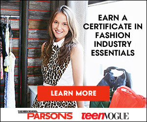 Parsons & Teen Vogue 300x250 banner - Certificate