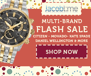 Jacob Time Flash Sale