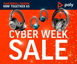 Poly Cyber Week Sale - Save up to 50%