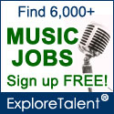 Find Music Jobs