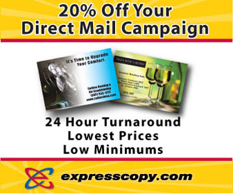 20% Off Your Direct Mail Campaign- expresscopy.com