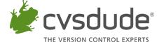 CVSDude registered logo