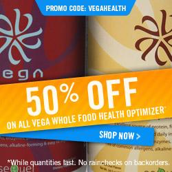 50% off Vega Whole Food Health Optimizer