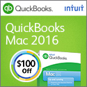 Quickbooks for MAC 2015 Software - Enjoy $50 off! Save Time & Get Organized!