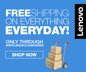 Lenovo Free Shipping! 300x250