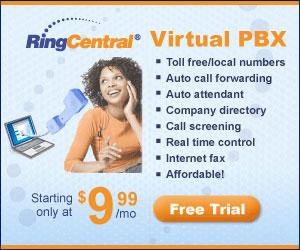 RingCentral Virtual PBX