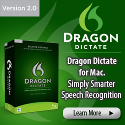 All brand-new award winning MacSpeech Dictate