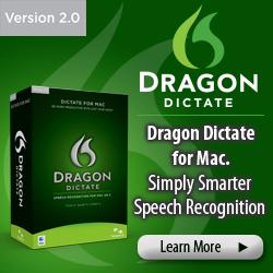 All brand-new award winning MacSpeech Dictate