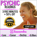 3 free minutes live psychic reading